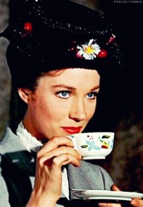 Mary Poppins Cerveza beer tea drinking bebiendo borrachos tipos de borrachos drunk types of