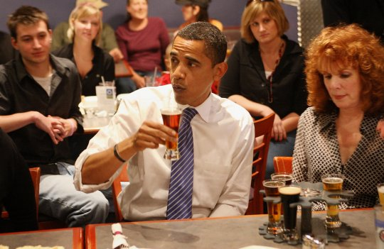 Obama bar cerveza estilos