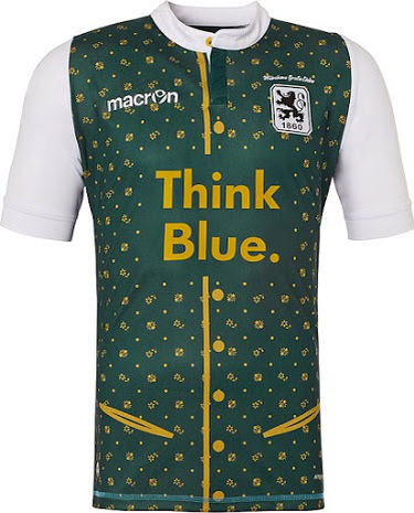 TSV 1860 Múnich Münich Okotberfest kit uniform jersey playera uniforme