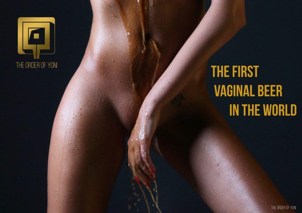Vaso vagina beer cerveza vaginal lactobacilo botella The Order Of Yoni La Orden de Yoni