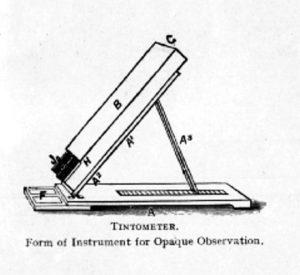 Tintómetro Lovibond medición color cerveza medir escala instrumento colorimetro