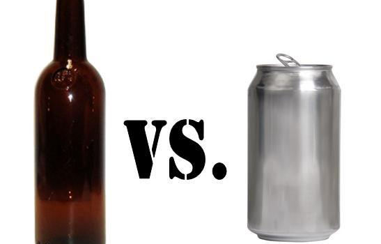 Botella vs lata cerveza cheve chela mejor sabor peor