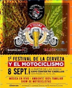 1er Festival De La Cerveza Y El Motociclismo. @ Expo Center Pa'Caballos | San Miguel el Alto | Jalisco | México